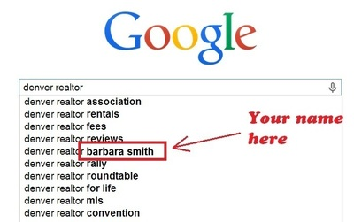 Example of Google Autocomplete Keyword Branding (PRNewsFoto/MikeMunter.com)