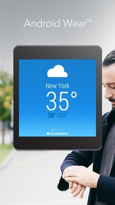 AccuWeather App for Android Wear