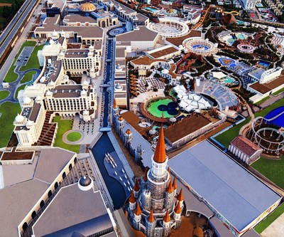 """""""The Land of Legends Theme Park"""" открылся с  1 ого июля"""