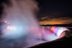 The Niagara Falls Illumination Board has issued a Request for Qualifications (RFQ), to investigate new lighting technology and capabilities to improve the illumination of both the Canadian Horseshoe and American Falls. Established in 1925, the Board is responsible to finance and maintain the nightly illumination of the Falls. (PRNewsFoto/The Niagara Parks Commission)