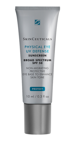 SKINCEUTICALS ANNOUNCES THE LAUNCH OF A NEW SPF STANDARD IN EYECARE: Introducing a Daily Non-Migrating UV Protective Eye Base with SPF 50 (PRNewsFoto/SkinCeuticals)