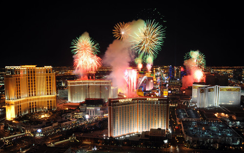 Las Vegas Will Ring In The New Year And Celebrate In Style