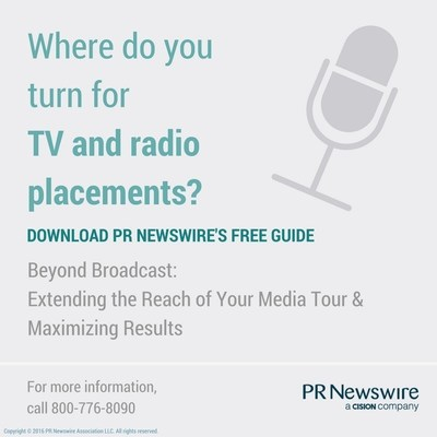 Beyond Broadcast: Extending the Reach of Your Media Tour & Maximizing Results:  http://prn.to/2bIX87d