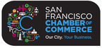 The San Francisco Chamber of Commerce reveals a bold new logo and brand identity depicting a mosaic of the city's diverse and innovative business landscape.  (PRNewsFoto/San Francisco Chamber of Commerce)