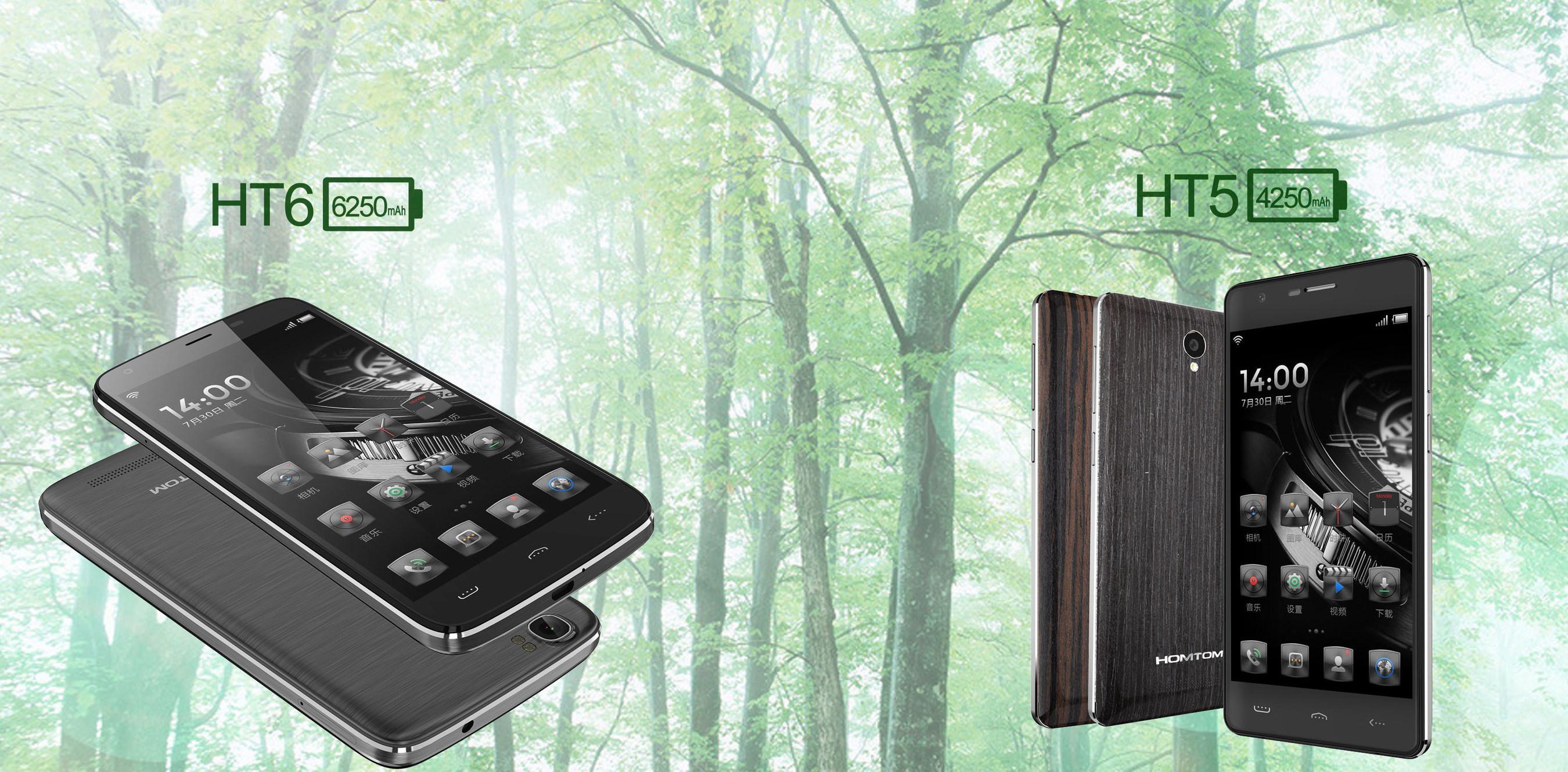 HOMTOM produziert Smartphones mit Akkukaufzeit von bis zu 7 Tagen