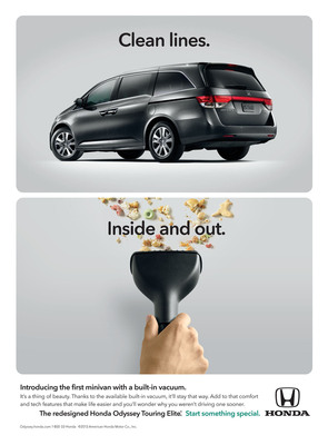 Neil Patrick Harris and Rainn Wilson Lend Voices to 2014 Honda Odyssey Advertising Campaign.  (PRNewsFoto/American Honda Motor Co., Inc.)