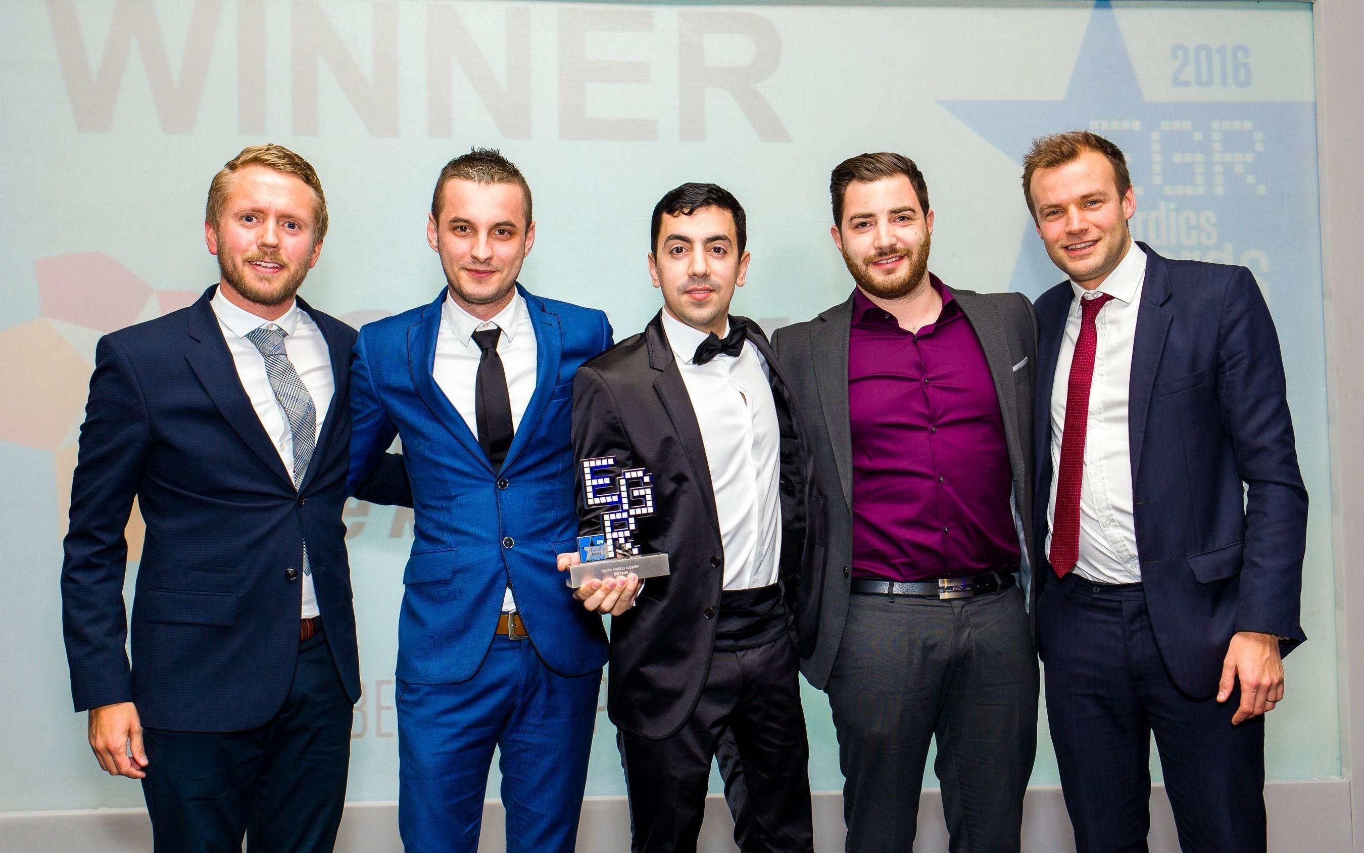 SBTEch eGR Nordics Award Winners for Best Sports Betting Platform (PRNewsFoto/SBTech) (PRNewsFoto/SBTech)