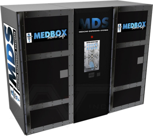 Medbox Secure Safe for Marijuana Industry. Ticker: MDBX.  (PRNewsFoto/Medbox, Inc.)