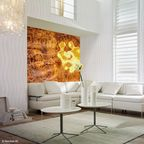 "Photo wallpaper from the online shop: The onlineprinters.com online shop is the first online print shop to offer individually printed photo wallpaper. The wallpapers are colourfast and light-proof and are printed in an odourless and eco-friendly fashion according to the Ökotex standard. Copyright: Neschen AG. Editorial use of this picture is free of charge. Please quote the source: ""Neschen AG/obs/Onlineprinters GmbH"