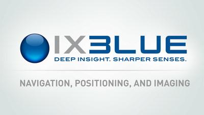 iXBlue (Logo): Navigation, Positioning, and Imaging (PRNewsFoto/iXBlue Inc.)