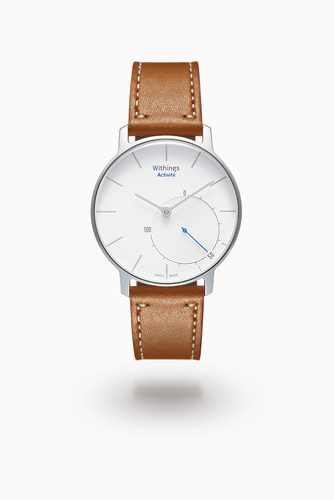 Withings Takes Fitness Tracking One Step Further With Activite - First Fashion-Forward Wearable Marries Connected Activity Tracker with Elegant, Swiss-Made Analogue Watch (PRNewsFoto/Withings)