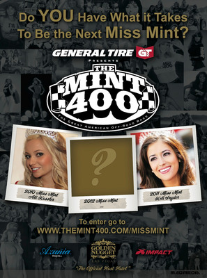 Are YOU the New 2012 Miss Mint 400?