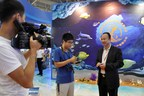 Mr. Xinrong Zhuo, Chairman and CEO of Pingtan Marine Enterprise Ltd. (NASDAQ: PME) was interviewed by the press.