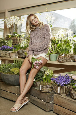 Rosie Huntington-Whiteley at Daylesford Organic Farm as UGG(R) brand's first global women's ambassador (Photo/Richard Stow)