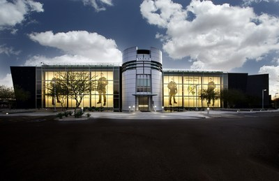 TASER's HQ in Scottsdale, AZ.  TASER is a technology solutions provider with its TASER Smart Weapons and AXON body-worn law enforcement cameras.  Photo courtesy of TASER International, Scottsdale, Arizona USA.