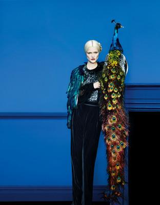 Neiman Marcus Art of Fashion Fall 2012 Gucci.  (PRNewsFoto/Neiman Marcus)