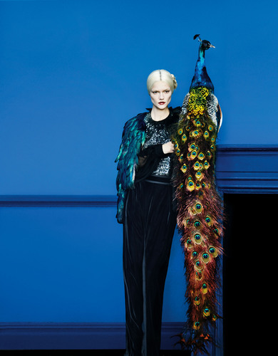Neiman Marcus Art of Fashion Fall 2012 Gucci.  (PRNewsFoto/Neiman Marcus)