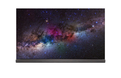 LG Electronics is unveiling its 2016 line of 4K HDR-enabled OLED TVs at CES(R) 2016 led by its flagship 77- and 65-inch class G6 and 65- and 55-inch class E6 models.