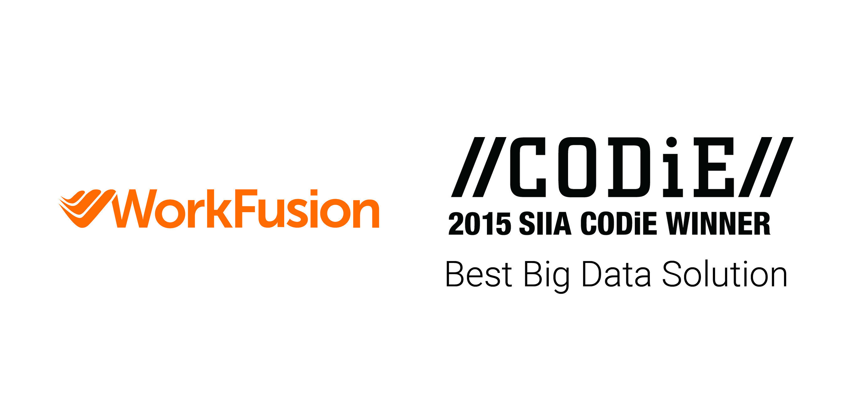 WorkFusion Wins SIIA Software CODiE Award for Best Big Data Solution