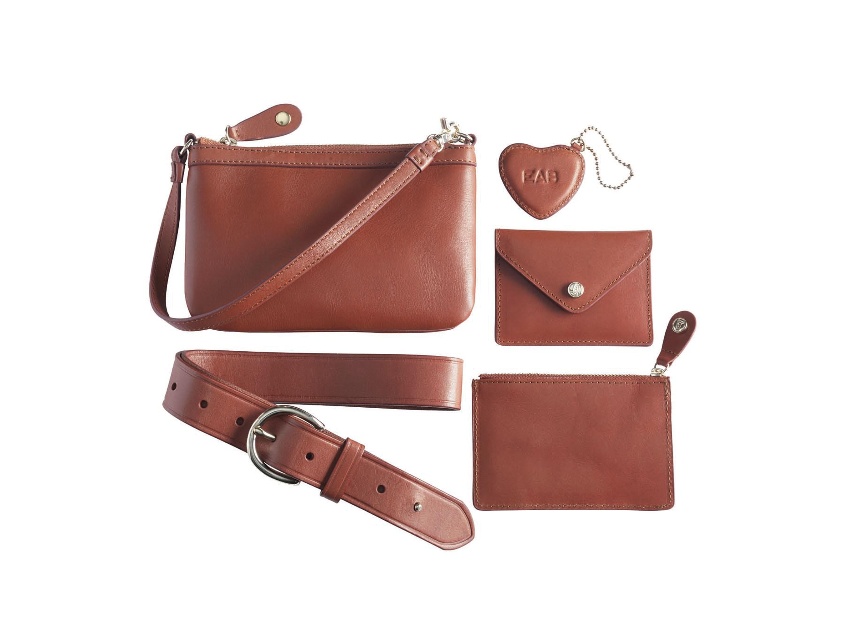 Lands' End Introduces Premium Leather Accessories Collection.  (PRNewsFoto/Lands' End)