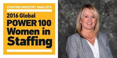 Vickie Anenberg, President of Cross Country Healthcare's Nurse and Allied division, was named to the Staffing Industry Analysts (SIA) Global Power 100, North American 50 - Women in Staffing list for 2016.