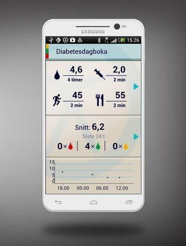 Apper gjør livet enklere -- Diabetesdagboka på Google Play