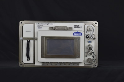The Lowe's 3D printer is slated to arrive at the International Space Station in early 2016.