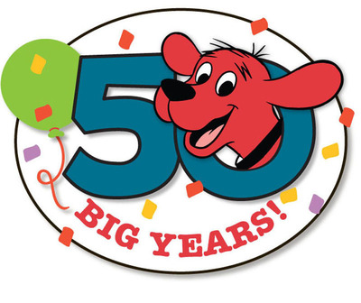 Scholastic Media announced today that it will kick off the 50th anniversary celebration of Clifford the Big Red Dog on September 24th.  (PRNewsFoto/Scholastic Inc.)