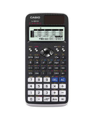 Casio Launches New fx-991EX Scientific Calculator With Spreadsheet Function