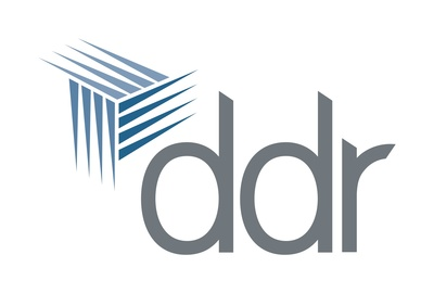 DDR Logo. (PRNewsFoto/DDR Corp.) (PRNewsFoto/DDR CORP.)