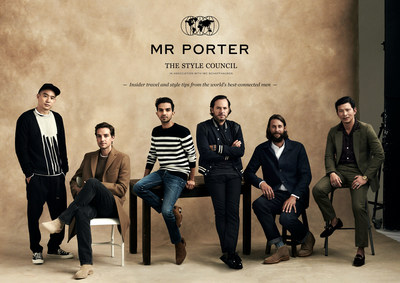 The MR PORTER Style Council. Photograph by Bjorn Ioos