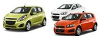 Both efficient and affordable, Robbins Chevy welcomes the 2014 Chevy Spark and 2014 Chevy Sonic to its Houston-area dealership. Schedule a test drive today! (PRNewsFoto/Robbins Chevy)