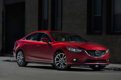 All-New 2014 Mazda6 Debuts at LA Auto Show.  (PRNewsFoto/Mazda North American Operations)