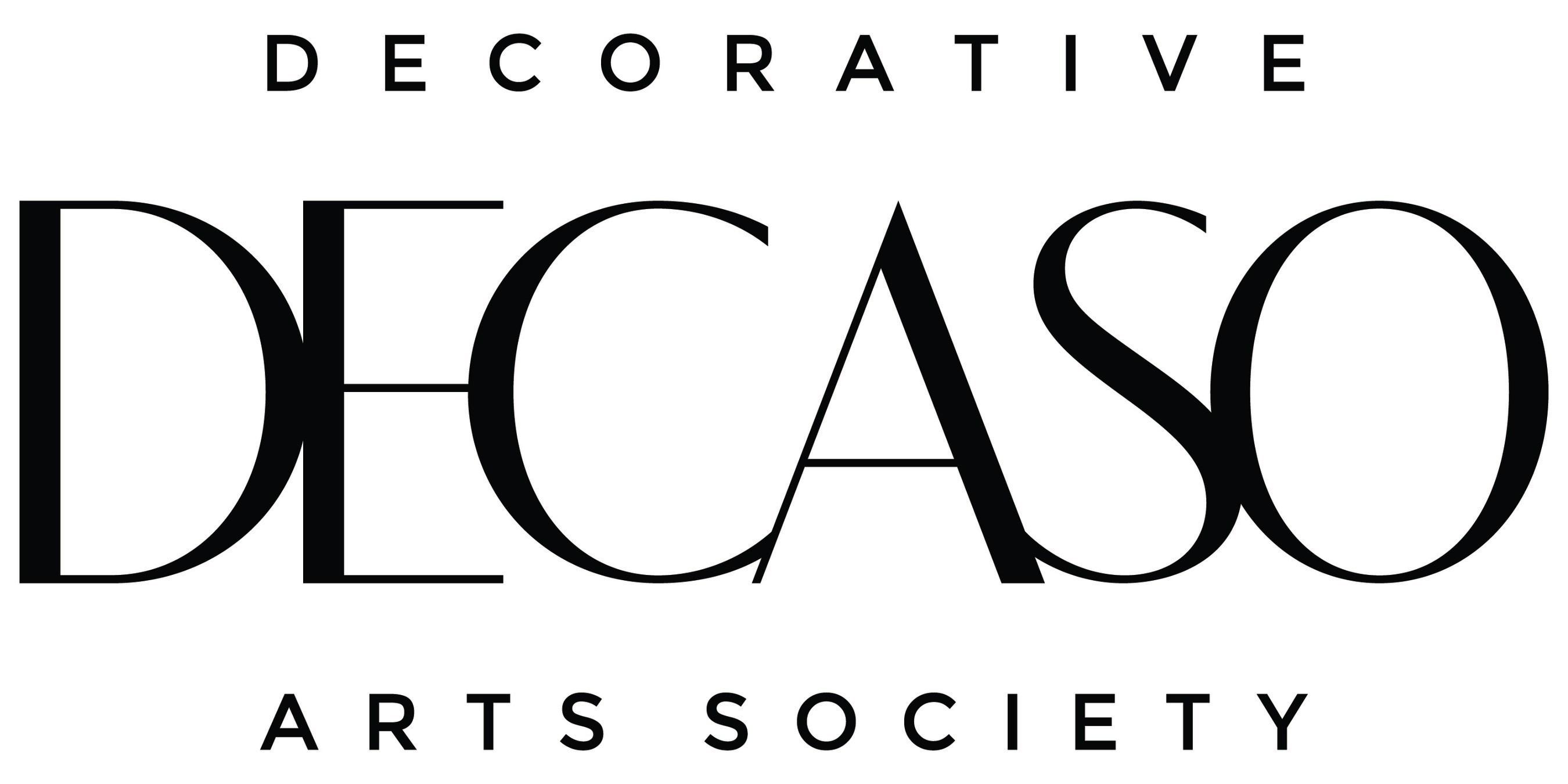 DECASO, Decorative Arts Society Logo