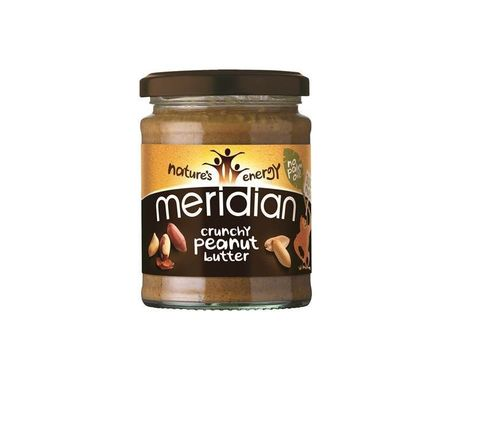 Meridian Crunchy Peanut Butter 100% Nuts (PRNewsFoto/Meridian Foods)