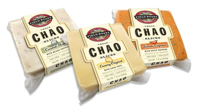 Field Roast's Chao Slices (from left: Coconut Herb, Creamy Original, Tomato Cayenne)