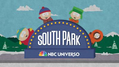 Gran estreno de South Park por NBC UNIVERSO lunes 26 de octubre a las 10pm.