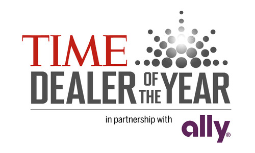 TIME Dealer of the Year.  (PRNewsFoto/Ally Financial)