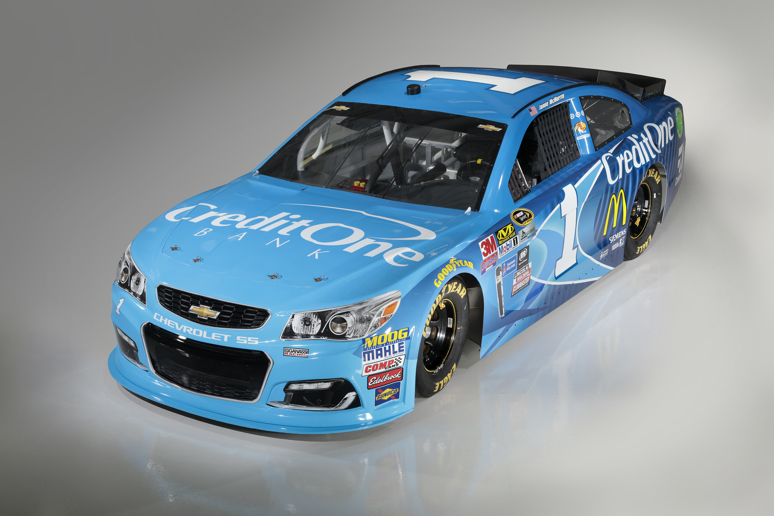 Credit One Bank will make its NASCAR Sprint Cup Series debut as the primary partner on the No. 1 Credit One Bank Chevrolet SS this weekend at Richmond International Raceway.
