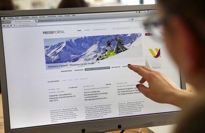 The New Presseportal Goes Online