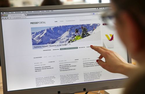 dpa subsidiary news aktuell has launched a new version of Presseportal.de. Journalists and others looking for information will find all the content they require a lot more precisely and faster than before via the new Presseportal. In this way, news aktuell makes communication between companies and PR agencies more successful and efficient, while boosting its core product, ots. (PRNewsFoto/news aktuell GmbH)