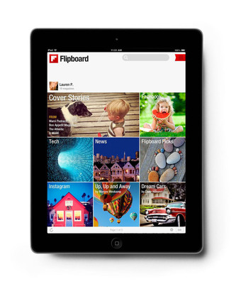 Flipboard, your personal magazine, opens its curation platform: now anyone can create and share their own magazines.  (PRNewsFoto/Flipboard)