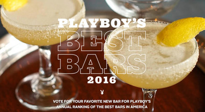 Playboy launches search to find the best new bars in America.
