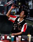 "TGI Fridays World Bartender Champion Hiroyuki ""Mark"" Yamada.  (PRNewsFoto/T.G.I. Friday's)"