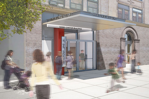 The New Manny Cantor Center on the Lower East Side(PRNewsFoto/The Educational Alliance)