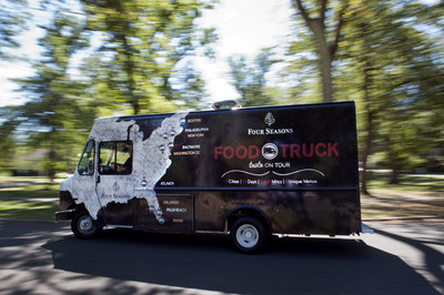 Four Seasons Food Truck Kicks Off Tour Down America's East Coast; Chefs from Boston to Miami Showcase Street-Food Menus on Second Annual Journey (PRNewsFoto/Four Seasons Hotels and Resorts)