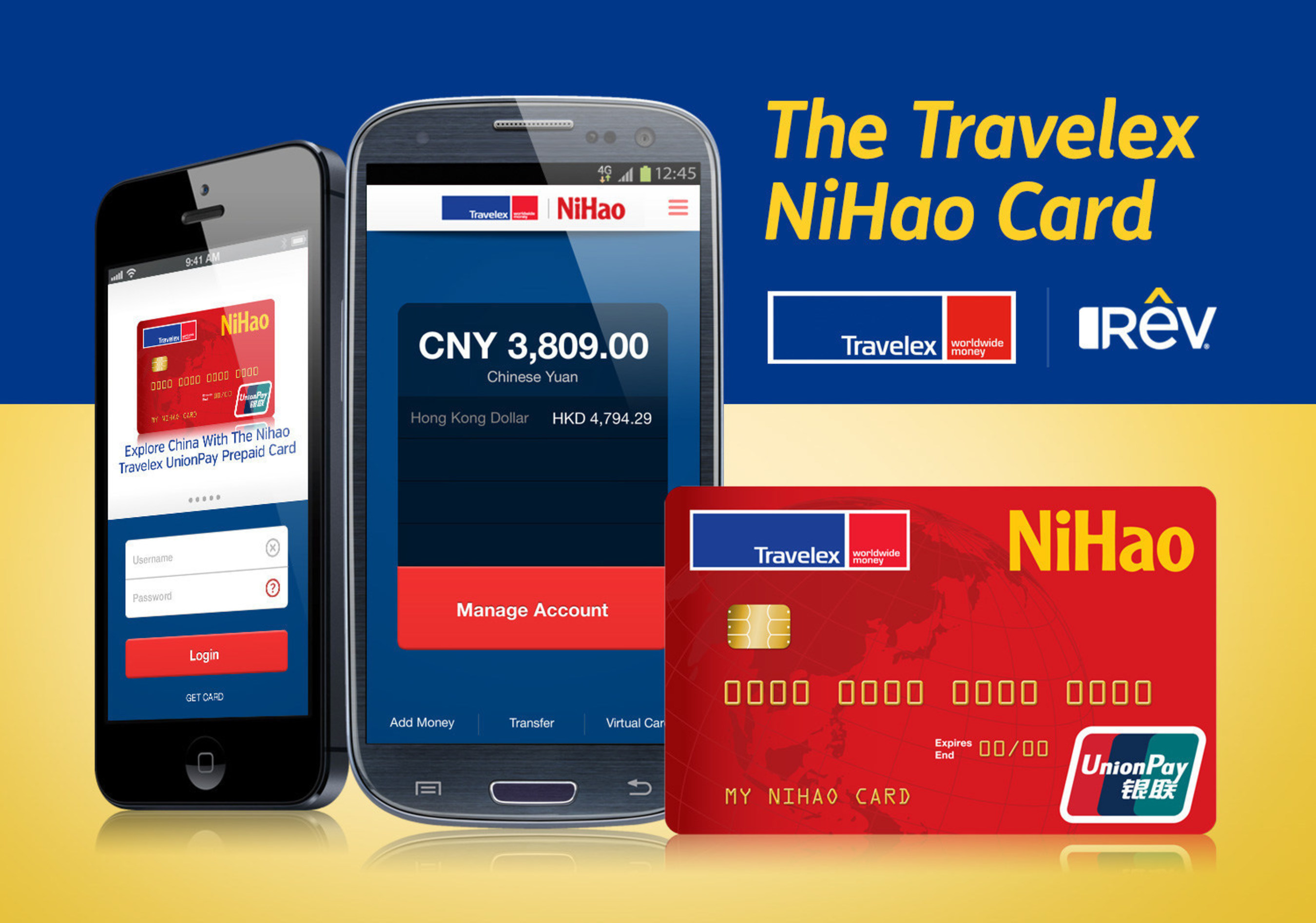 Rev And Travelex Launch The Nihao Unionpay Prepaid Card In
