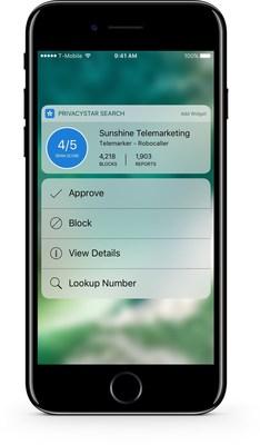 PrivacyStar for iOS10 on iPhone 7