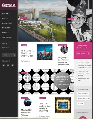 Arup Launches Doggerel, an Online Magazine to Showcase Innovation in the Built Environment (doggerel.arup.com)