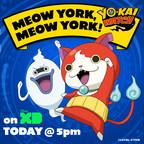 WATCH #YokaiWatch Disney XD tonight @ 5 ~ VISIT #NYCC Family HQ Experience!